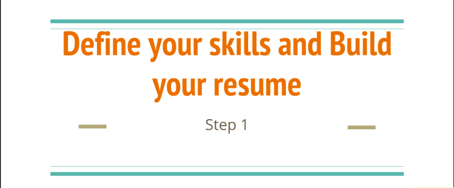 Work remotely – Define your skills and build your resume